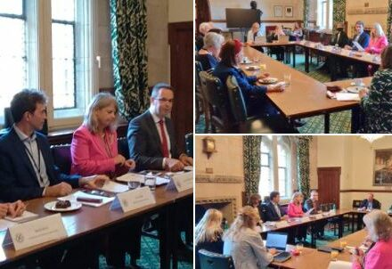The meeting provided an opportunity for parliamentary attendees to hear from experts on the backslide of democracy which has occurred as a result of the increased powers executives have gained to manage the public health crisis.