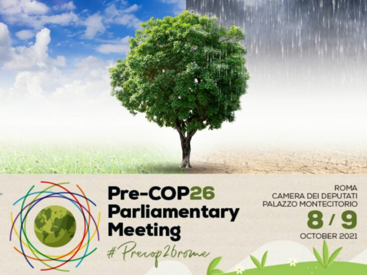 The IPU is co-organizing aPre-COP26 Parliamentary Meeting in Romeon 8-9 October 2021 with the Italian Parliament, as part of a series of pre-COP26 events hosted by Italy.